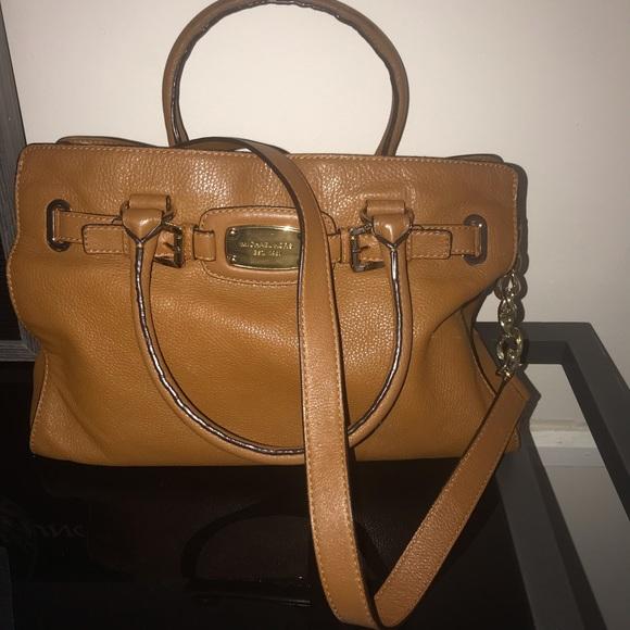 Michael Kors Handbags - Michael Kors Hamilton Satchel